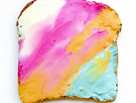 Unicorn toast combined by Adeline Waugh.