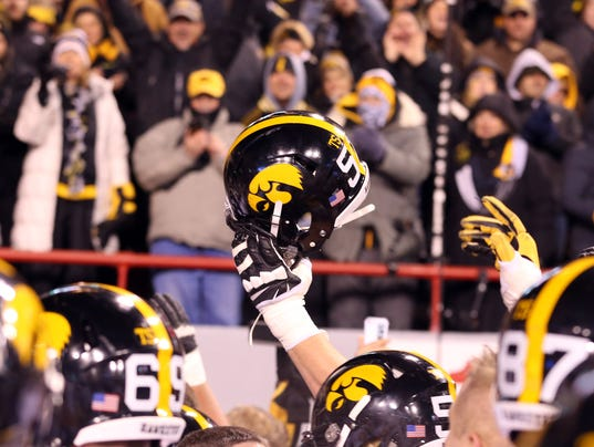 NCAA Football: Iowa at Nebraska