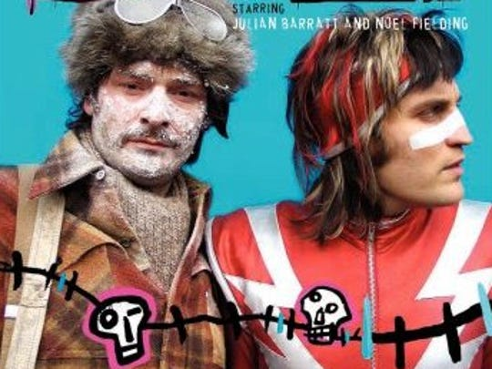 Julian Barratt (left) and Noel Fielding of the Mighty