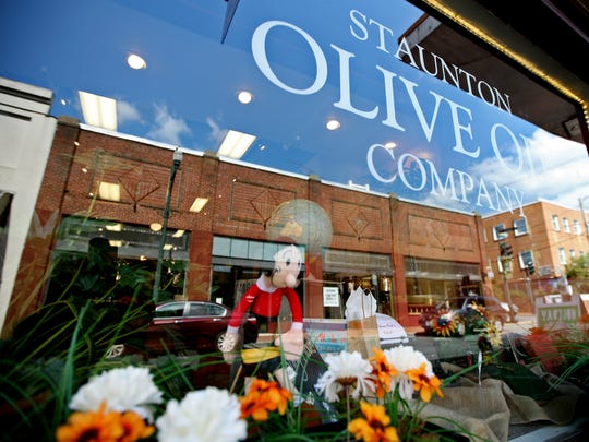 Staunton Olive Oil Company, has been open over a year and offers 53 different olive oils and vinegars at the shop on W. Beverley St. All are available to be sampled and purchased in different sized re-fillable bottles.