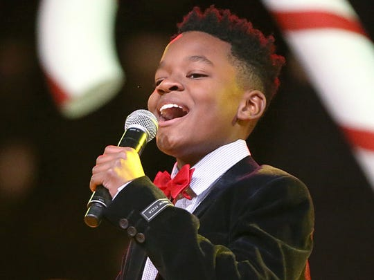 """Raymond Davis Jr., 12, joined the national tour of """"Motown The Musical"""" in January."""