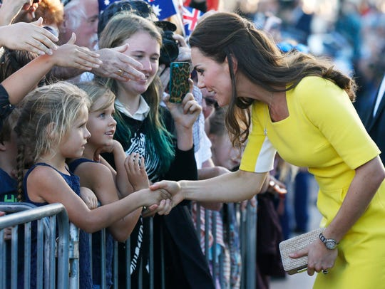 Royals pose for selfies on Down Under tour