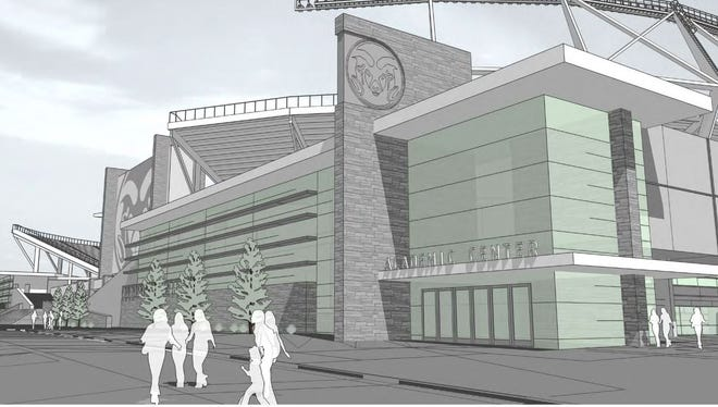 CSU on-campus stadium renderings.