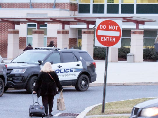 Teachers and students returned to Central York High