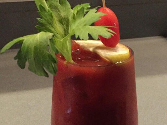 Fiddleheads' Virgin Bloody Mary.
