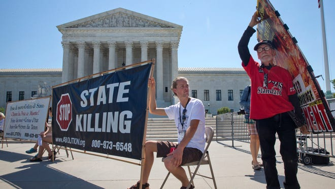 The Supreme Court agreed Monday to hear two new death penalty cases, including one that will test the constitutionality of spending decades on death row.