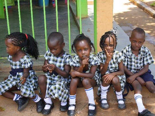 Ugandan children.