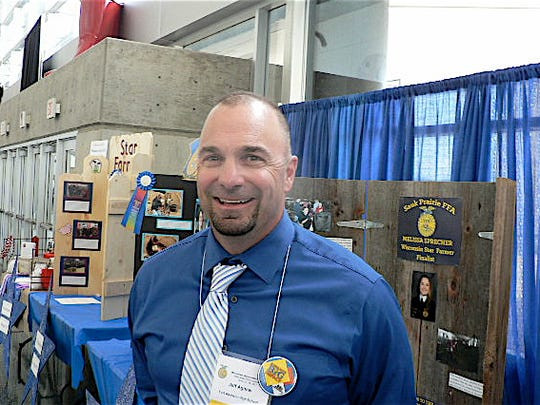 Jeff Agnew in his 28 years at Ft. Atkinson FFA has
