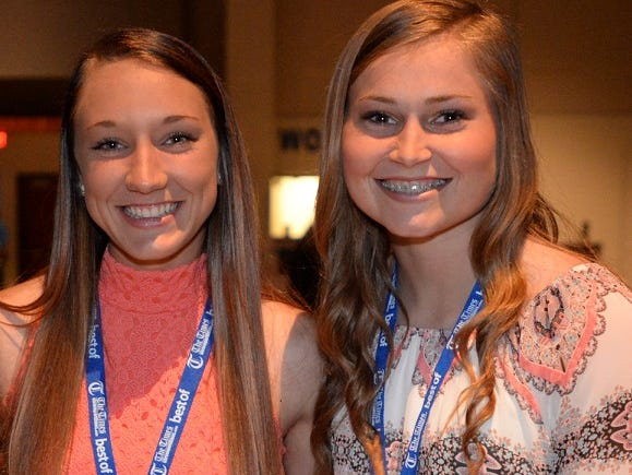 North DeSoto's Bayli Smon and EC Delafield have been selected to compete in the LHSCA All-Star game.