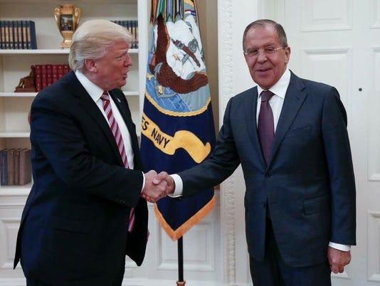 Trump Russia Lavrov