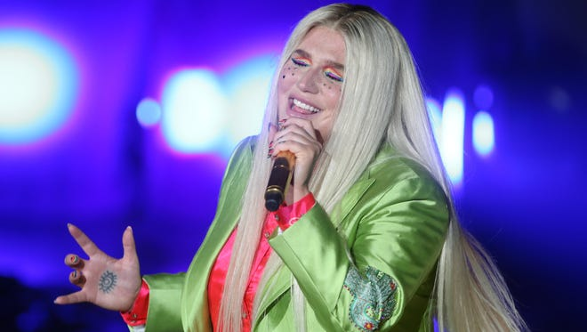 Kesha performs at the Ryman Wednesday September 27, 2017.