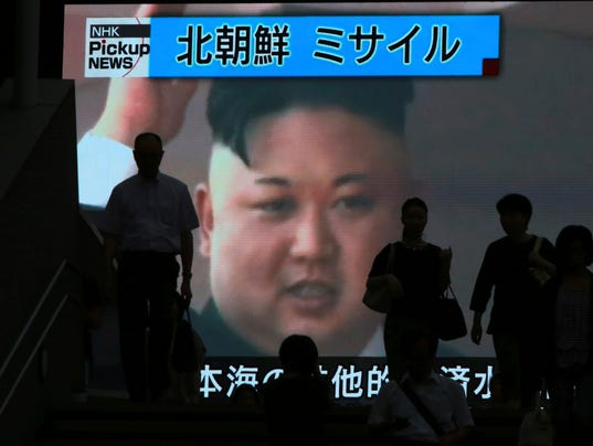 North Korea missile may not have re-entered atmosphere, report says