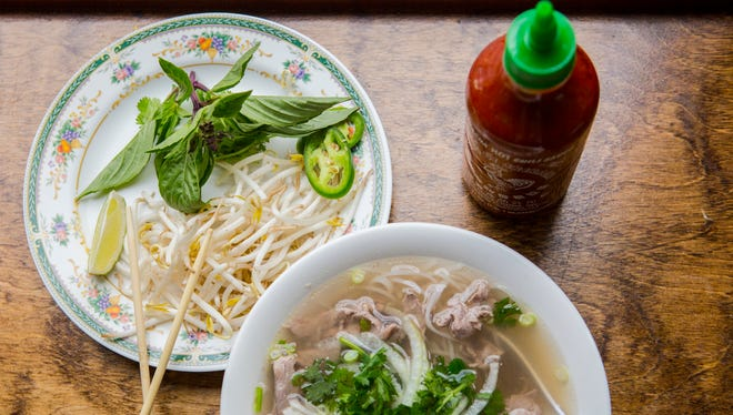 May 9, 2016: Pho from Le's Sandwiches and Pho's on Court Street. They will be serving their pho at Asian Fest May 14-15 at Washington Park in Over-the-Rhine.