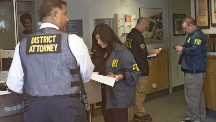 FBI execute warrants at Palm Springs City Hall Tuesday,