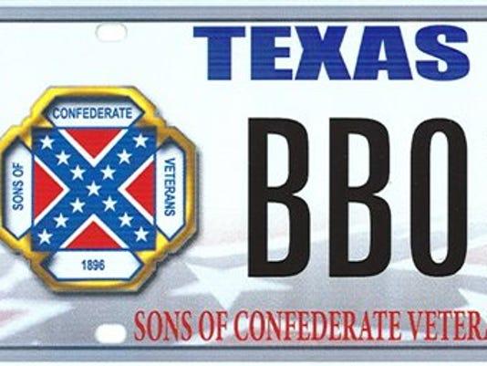 Supreme Court License Plates