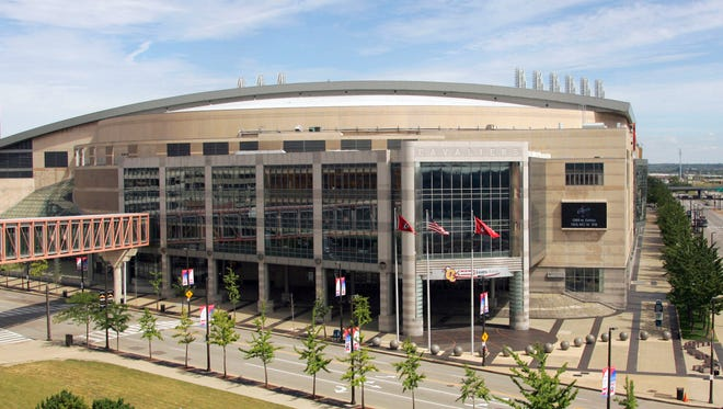 Quicken Loans Arena in Cleveland will be the site of the Republican National Convention in July.
