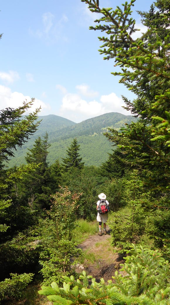 Blue Ridge Parkway rangers will lead a hike on the