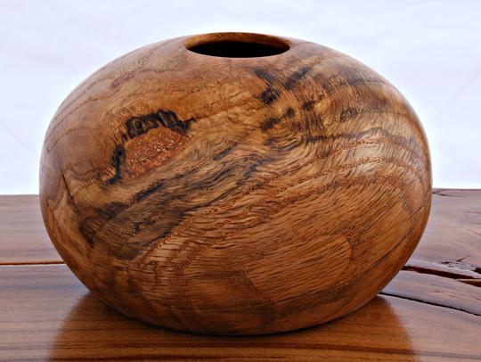 Monumental woodturning by John Taliaferro