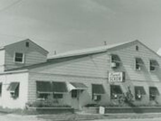 Carmel Screw Co. on Main Street in 1971. High school