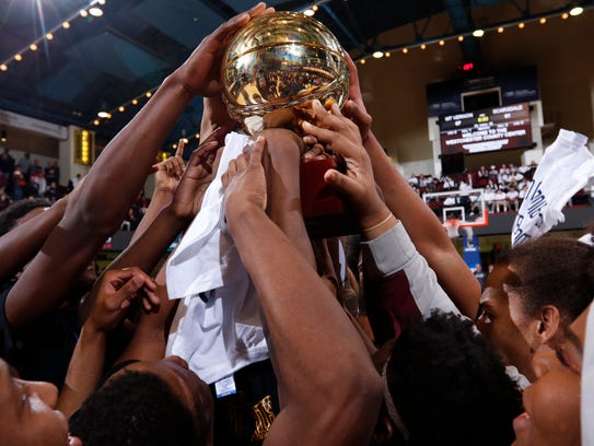 The golden ball is the sign of a championship season. Since 1933, except for one year, the Section 1 boys basketball championships have been held at the Westchester County Center. That will change in 2018.