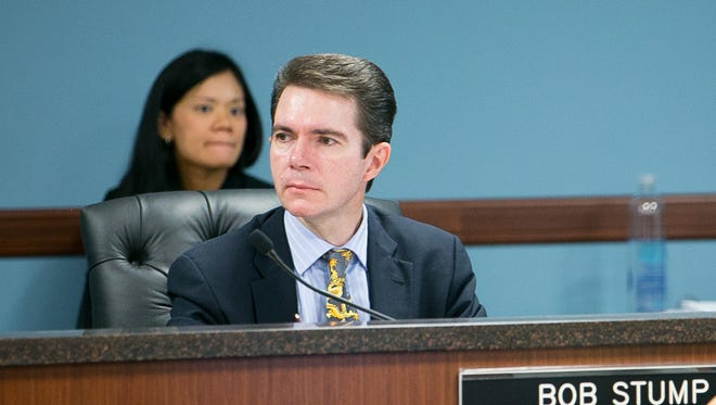 Bob Stump at the Arizona Corporation Commission.