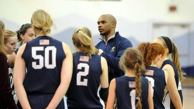 Asheville Christian Academy girls basketball coach John Williams.