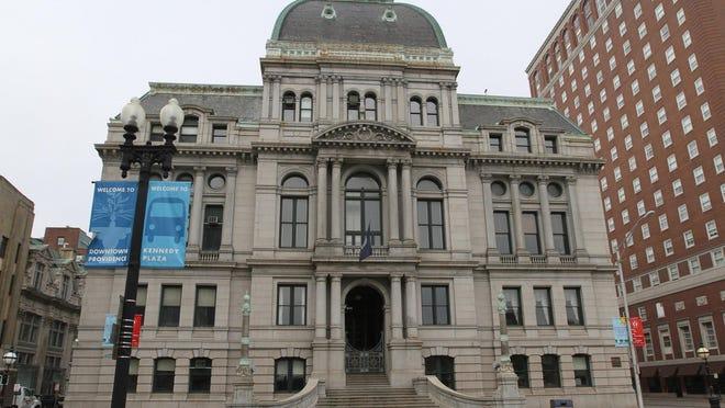 Providence Mayor Jorge Elorza discuss a gun buyback program in early September.