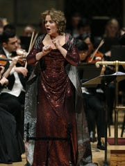 """Renee Fleming appears in the world premiere of """"Letters"""