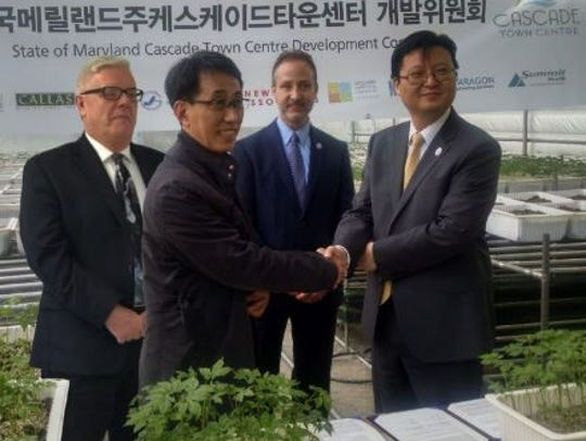 Local and South Korean business officials involved
