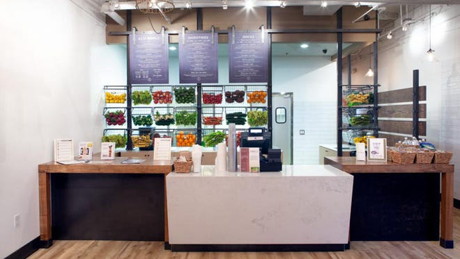 The first new shop is now open for business at Thompson Peak Parkway and Hayden Road in Scottsdale. It follows the successful concept of made-to-order fresh juices and smoothies, bottled grab-and-go juices, acai bowls, cold-brewed coffees made with cashew nut milk, and cleanse programs.