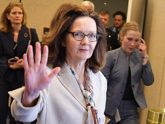 FILES-US-POLITICS-INTELLIGENCE-CIA-HASPEL-SENATE