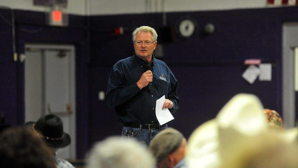 Gary Bertellotti, Region 4 supervisor for the MT Fish