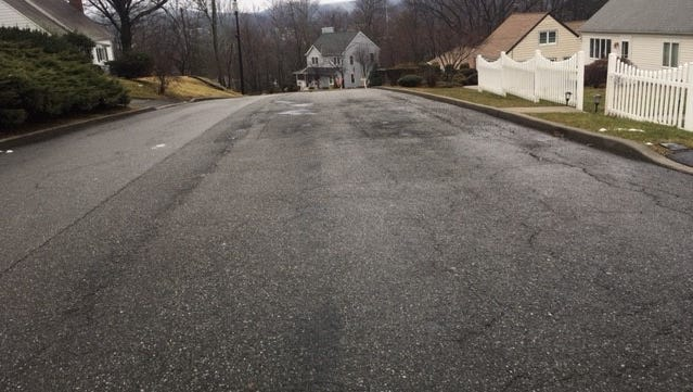 This section of Belleview Avenue in Butler may be repaved if the municipality gets the grant it is seeking from the New Jersey DOT.