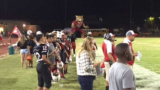 Central hosted South Mountain on Friday, Sept. 15, 2017.