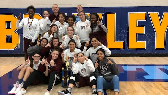 The Rancho Mirage girls' basketball team captured the program's first-ever tournament title over the weekend.