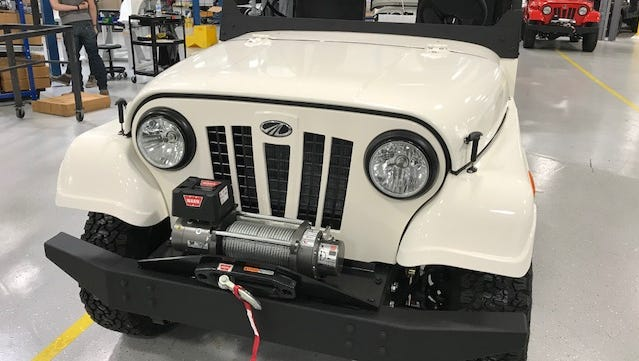 The Roxor, a new off-road utility vehicle, is being built by Mahindra North America in Auburn Hills.