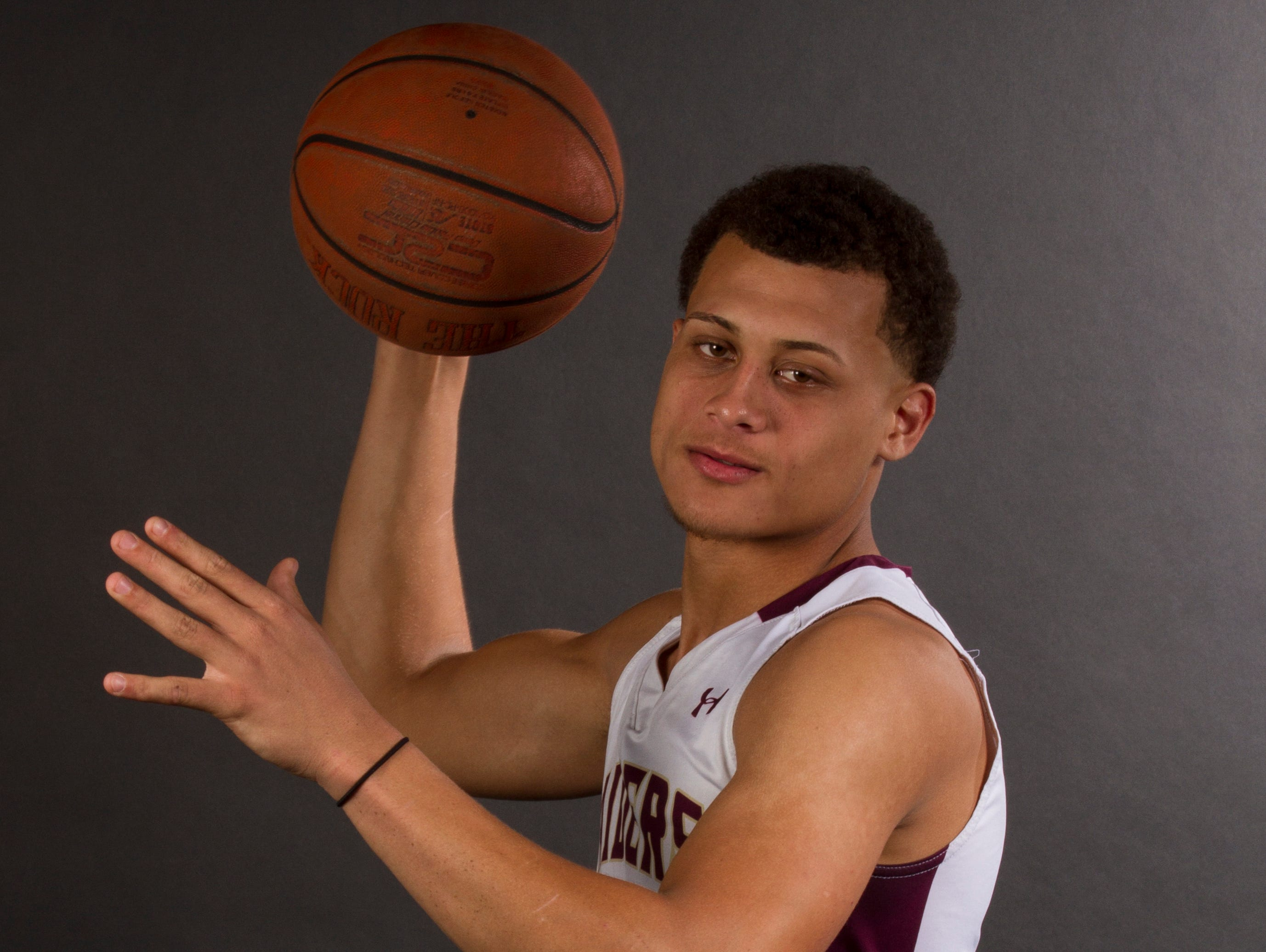Jacob Tracey, 17, is a sophomore basketball player at Riverdale High School.