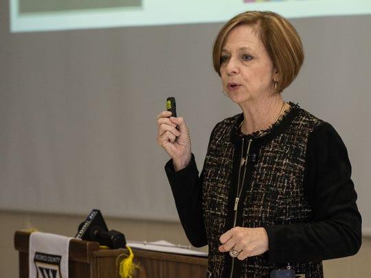 Donna Hanlin, Wicomico County Superintendent of Schools,