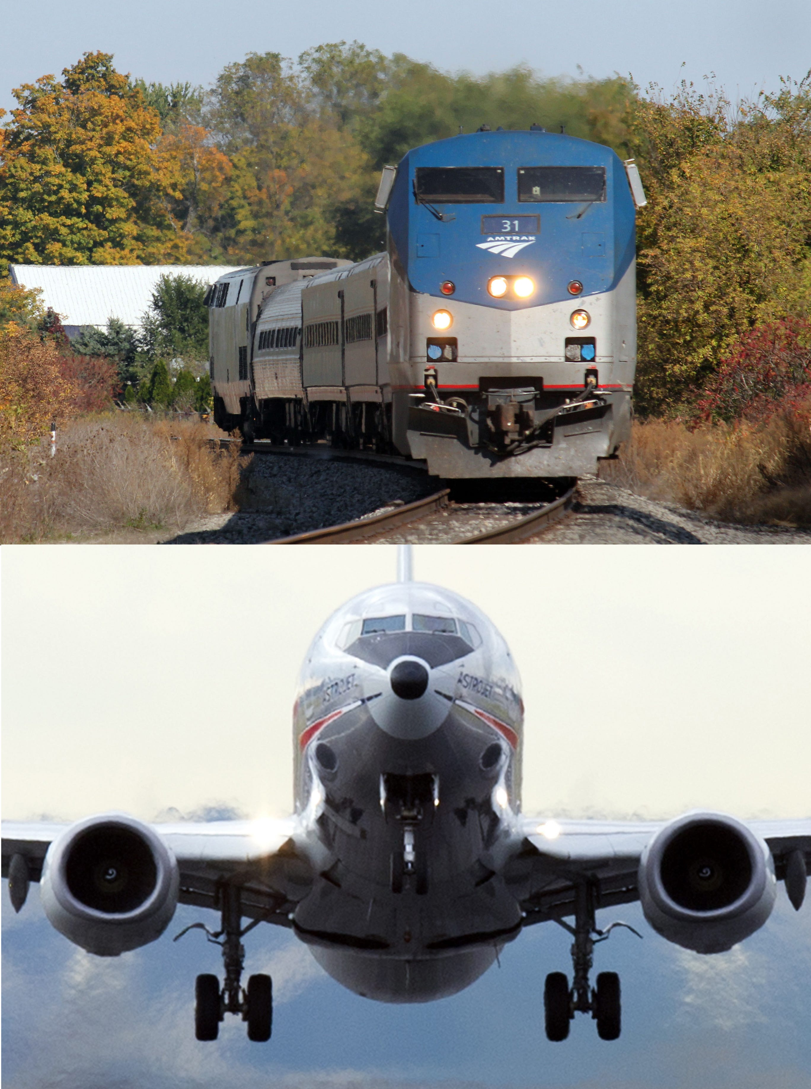 are trains safer than planes