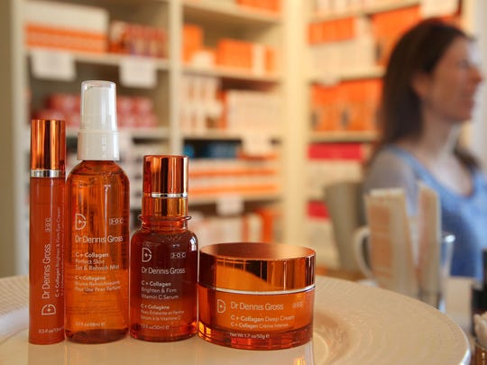 The C+ Collagen line — including vitamin C serum — was developed by New York City dermatologist Dr. Dennis Gross. The new serums can be purchased at Waterlily, the spa and cosmetics boutique at 2383 Monroe Ave., Brighton.
