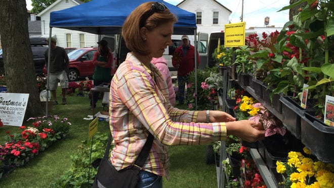 The Manitowoc Garden Fair is scheduled from 10 a.m. to 3:30 p.m. June 13 in Washington Park.