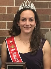 American Honey Queen Kimberly Kester was presented with a Special Recognition Award