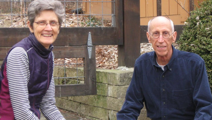 Angela and John Tedesco donated part of organic farm in Granger to Practical Farmers of Iowa.