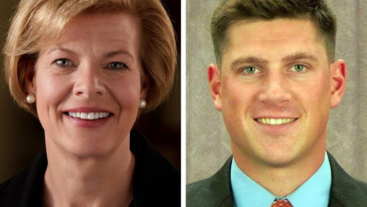 Democratic U.S. Sen. Tammy Baldwin and Republican U.S.
