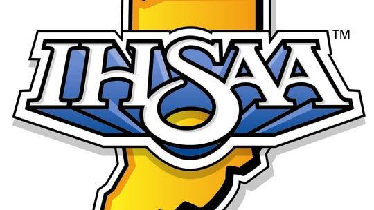 IHSAA logo  Indiana High School Athletic Association