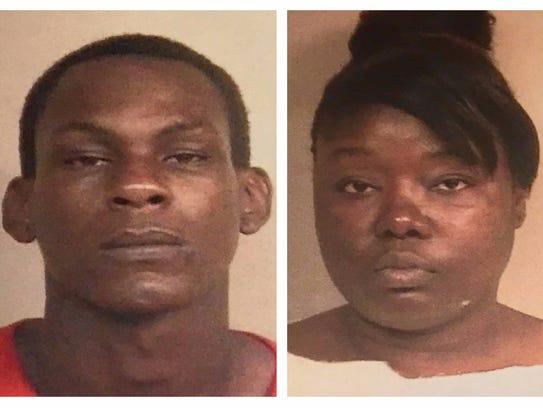 Kendrick Jackson, 26, and Lakia Bradley, 35, are charged
