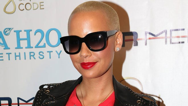 Amber Rose at the Sister Code Wrap Party at Xen Lounge in Studio City on October 23, 2014.