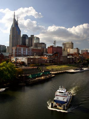 Nashville and river
