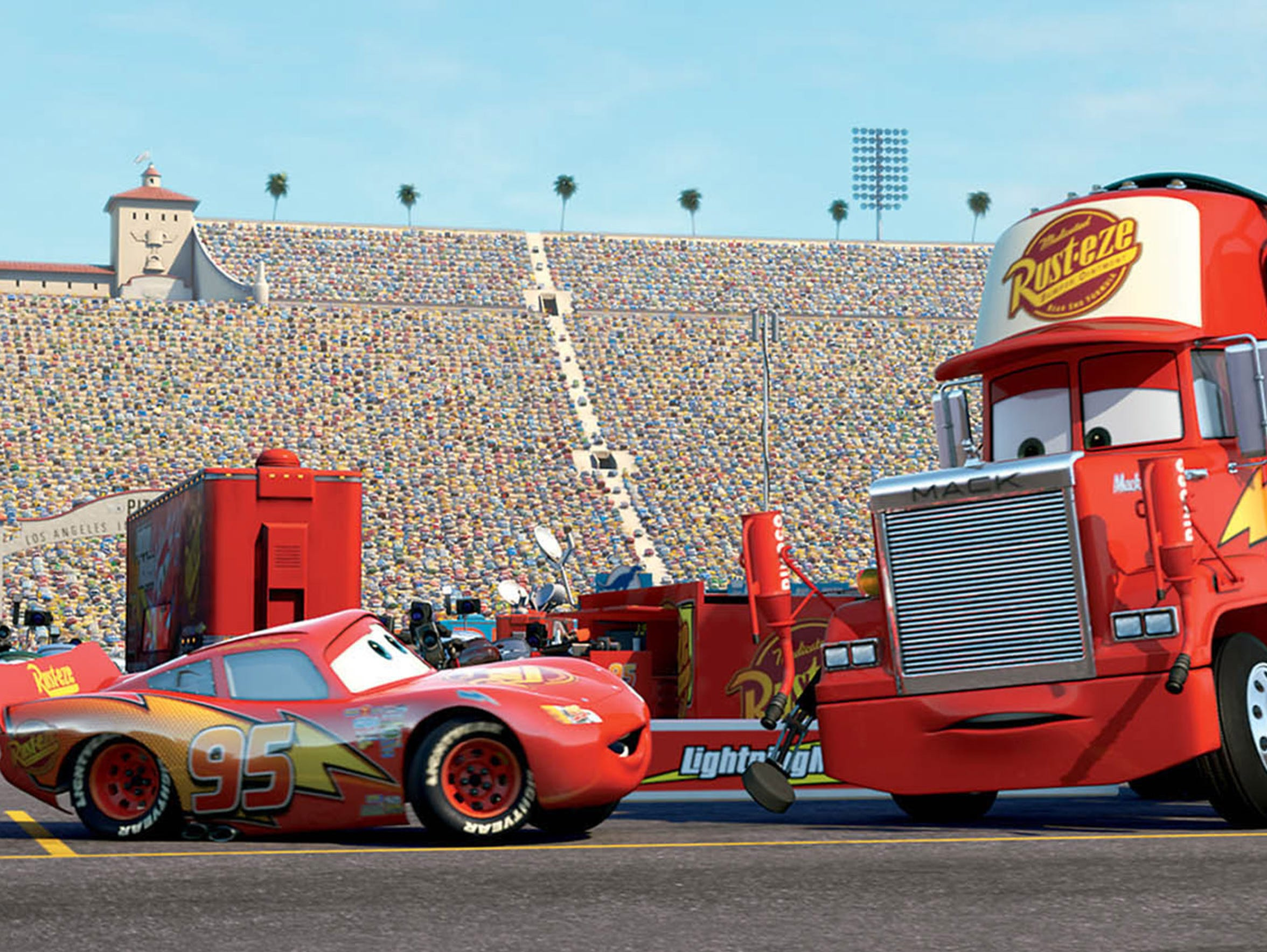 """A scene from the 2006 film """"Cars."""""""