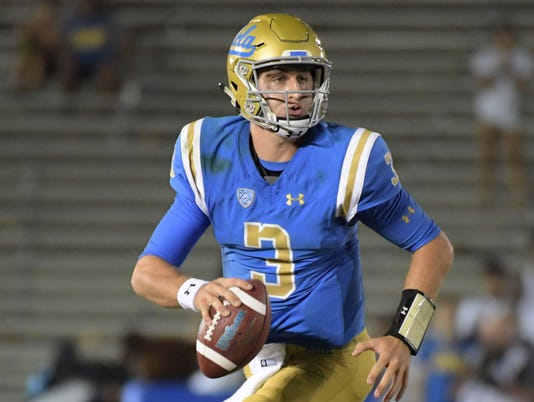 USP NCAA FOOTBALL: TEXAS A&M AT UCLA S FBC USA CA